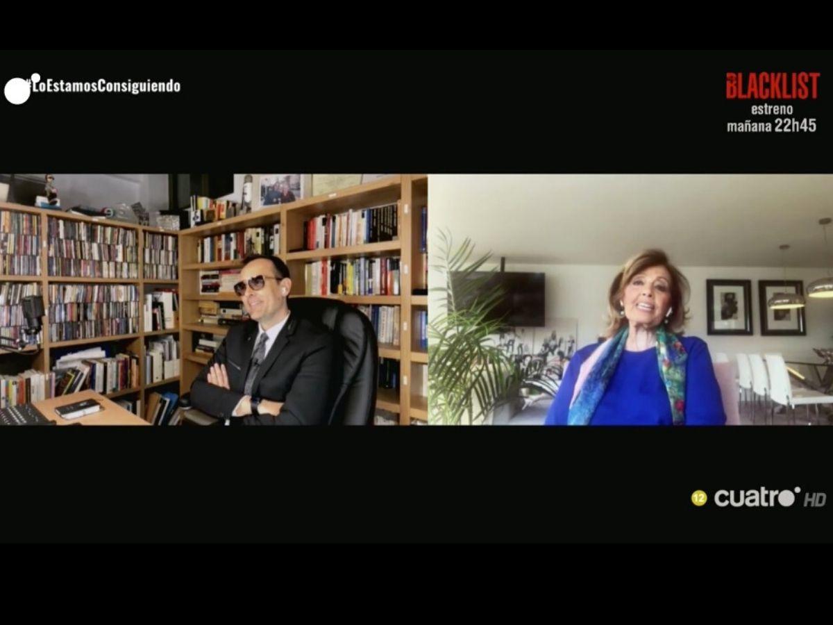 """María Teresa Campos habla de su aislamiento: """"me han cogido débil psicológicamente"""" 1"""