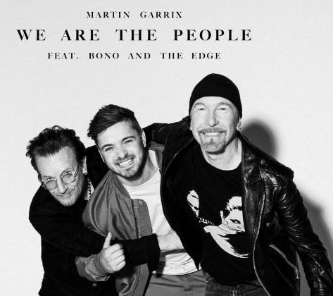 Martin Garrix Bono The Edge Somos la gente