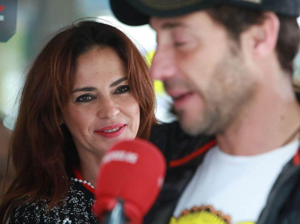 Olga Moreno, triste y visiblemente más delgada, se reúne con Antonio David en Málaga 1