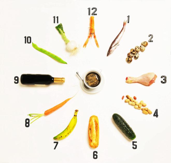 ¿A qué hora tienes la cena?