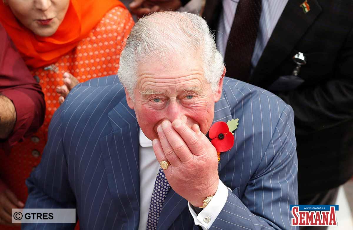 Preocupación (y bromas) sobre las manos hinchadas del príncipe Carlos de Inglaterra 1