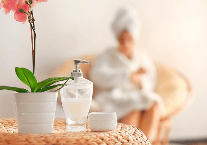 Prepare su propio spa en casa para relajarse antes de las vacaciones. 1