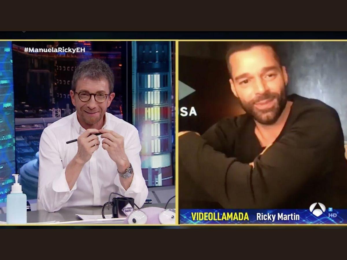 """Ricky Martin habla en 'El Hormiguero' de su encierro: """"Sentí mucha ansiedad"""" 1"""
