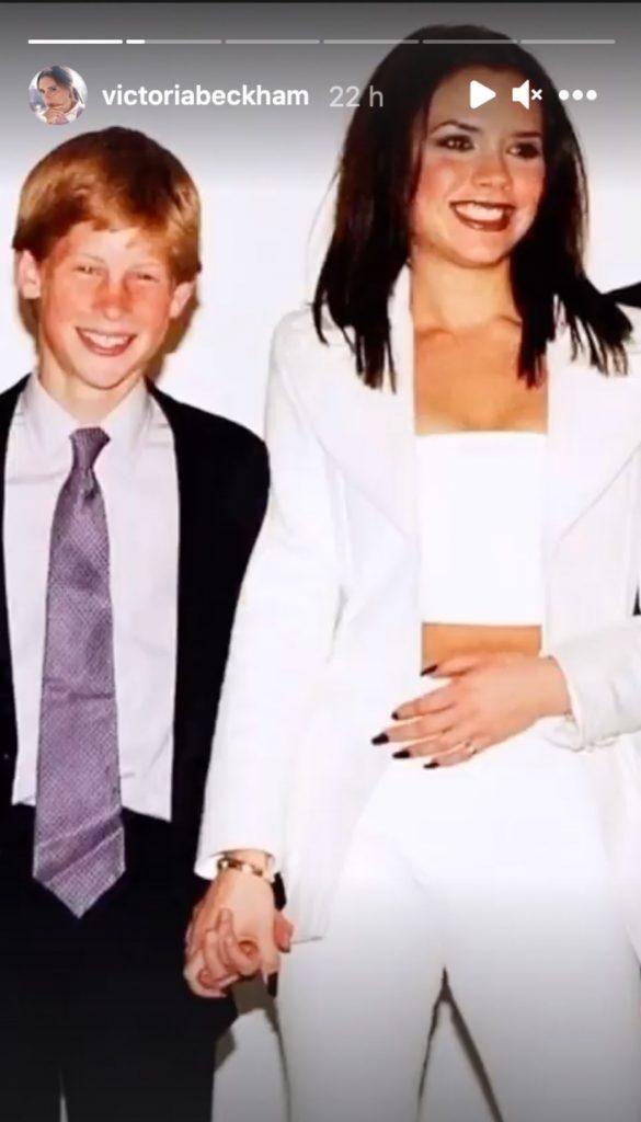 Victoria Beckham rescata uno de sus recuerdos más especiales con el príncipe Harry 1