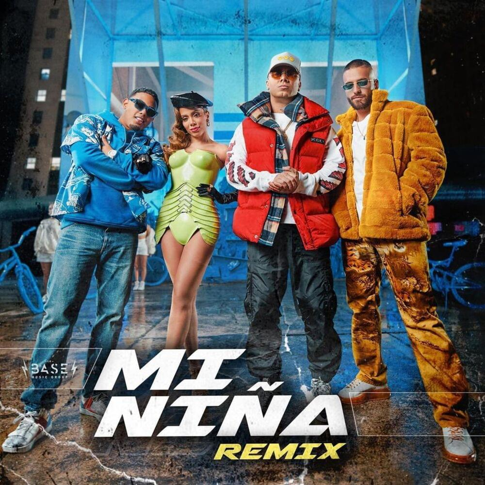 Wisin, Myke Towers, Maluma Mi Niña Remix Los Legendarios