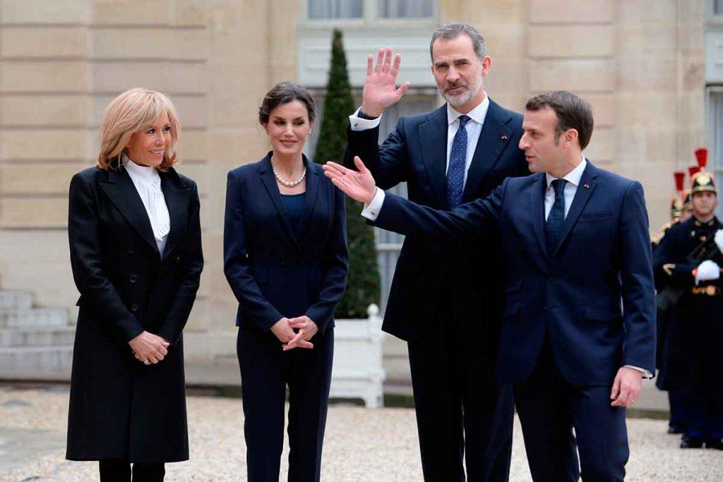 coronavirus: el gobierno francés tiembla en la visita de los reyes a París 1